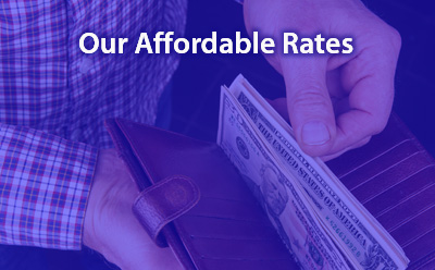 Our Affordable Rates